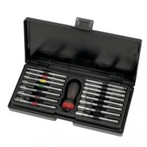 16 PC COMBO GEARED NUT DRIVER SET