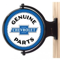 Chevy Service Revolving Wall Light