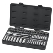 "68PC 1/4"" & 3/8"" SAE/MM (STD/DEEP) SOCKET SET"