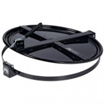 Pig Latching Drum Lid - for 55 gallon - Black