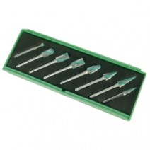 8pc Speedway Rotary Burr Set in Plastic Box