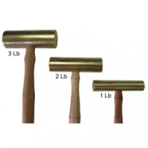 Brass Hammer - Set of 3