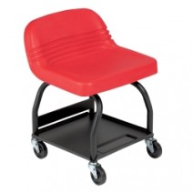 CREEPER SEAT/HIGH BACK/RED