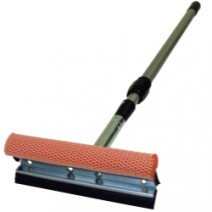 """SQUEEGEE 8"""" METAL HEAD WITH 21 - 36"""" EXT HANDLE"""